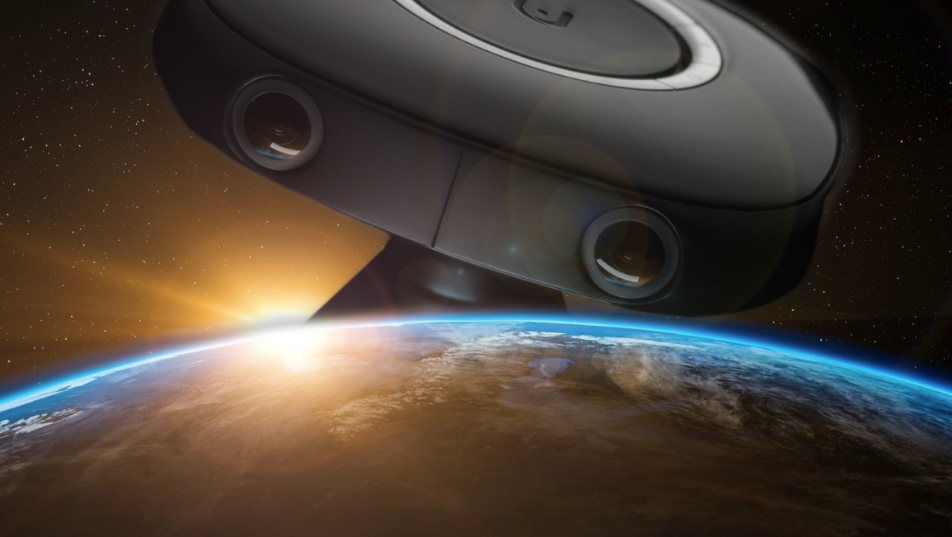 Vuze VR camera chosen to take pictures in outer space
