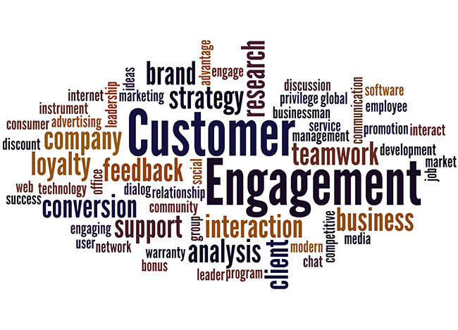 Customer Engagement Graphic including customer service, internal parts flow, global inventories. KPI, Success Measures, Goals, Projects, Professional Accomplishments