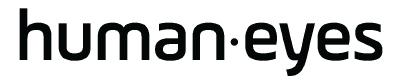 Humaneyes Technology Ltd. Logo. Global Marketing of Vuze camera portfolio for virtual reality augmented reality, and visual technology innovation