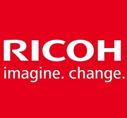 Ricoh Logo used to introduce brand positioning including channel growth, integration, and innovative technology. KPI, Success Measures, Goals, Projects, Professional Accomplishments