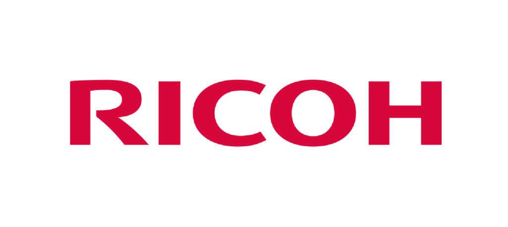 Ricoh Logo on Resume showing the global company marketing and brand position
