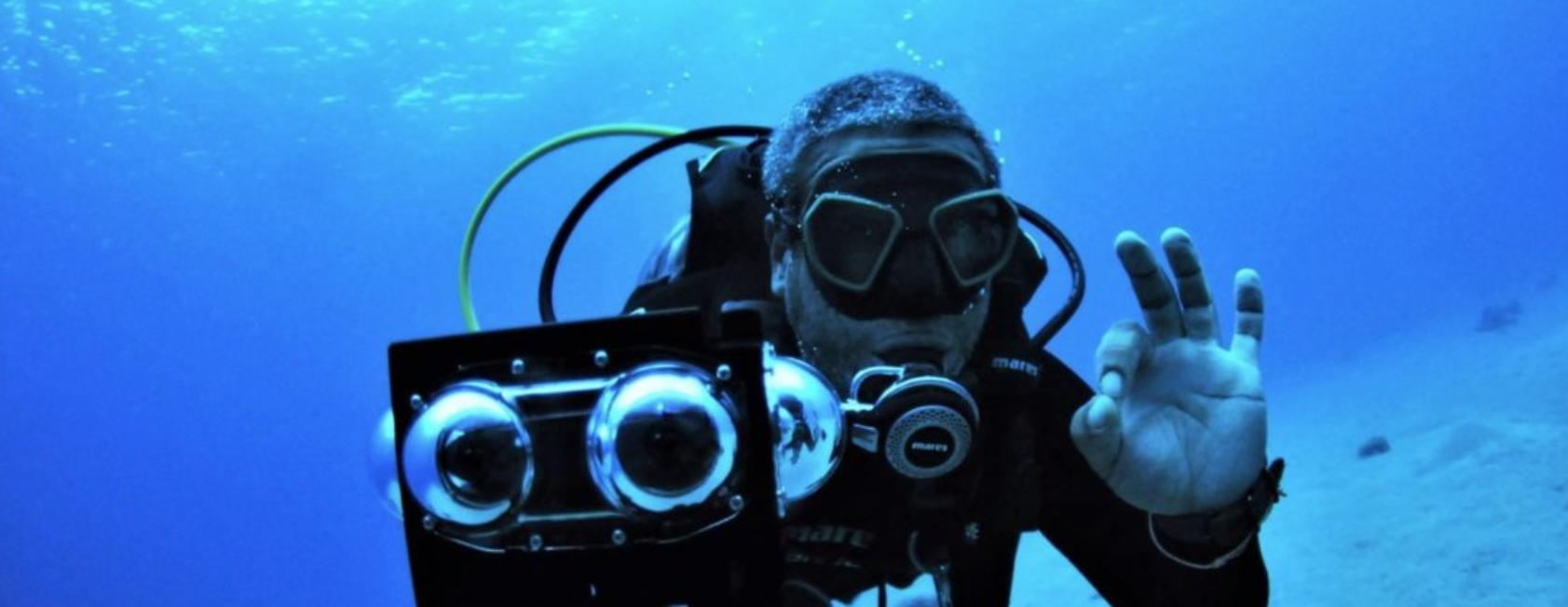 HumanEyes Reveal New Underwater Case For Vuze VR Cameras