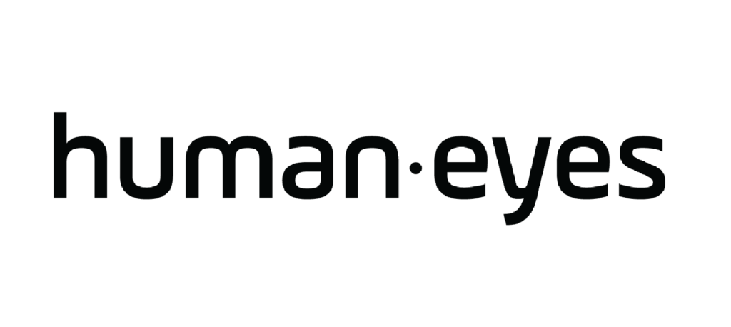 Humaneyes Logo on Resume showing the global company marketing and brand position
